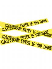 Caution: Enter If You Dare Tape